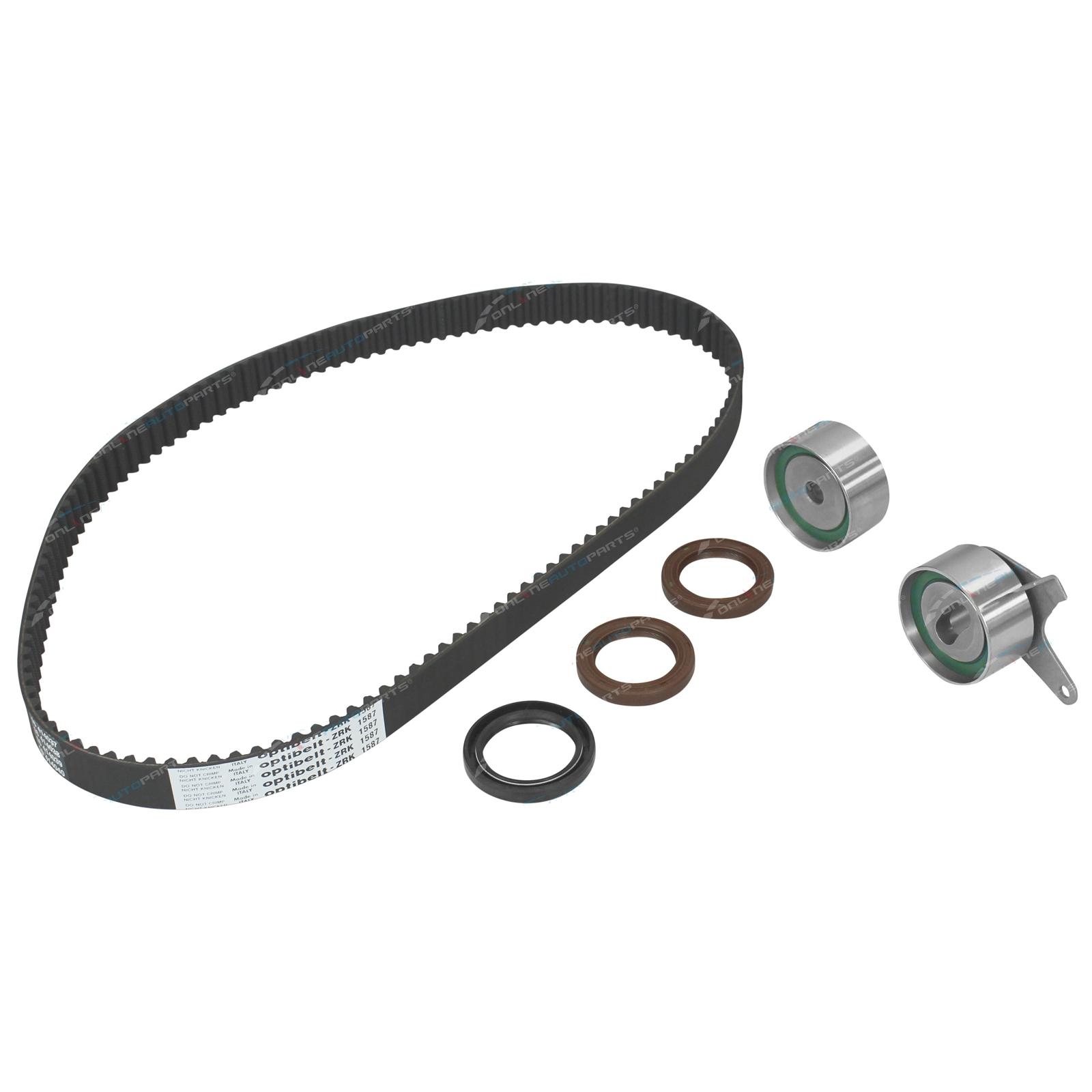 Timing Belt + Tensioner Kit Mazda 323 BJ 1998-2002 ZM 1.6L 1598cc MPI 16v DOHC Engine Protege Astina