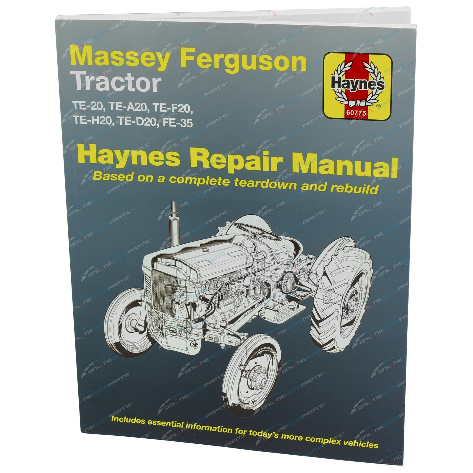Gregory's Workshop Repair Manual Book Massey Ferguson Tractor TE20 TEA20  TEF20 TEH20 TED20 FE35 Petrol &