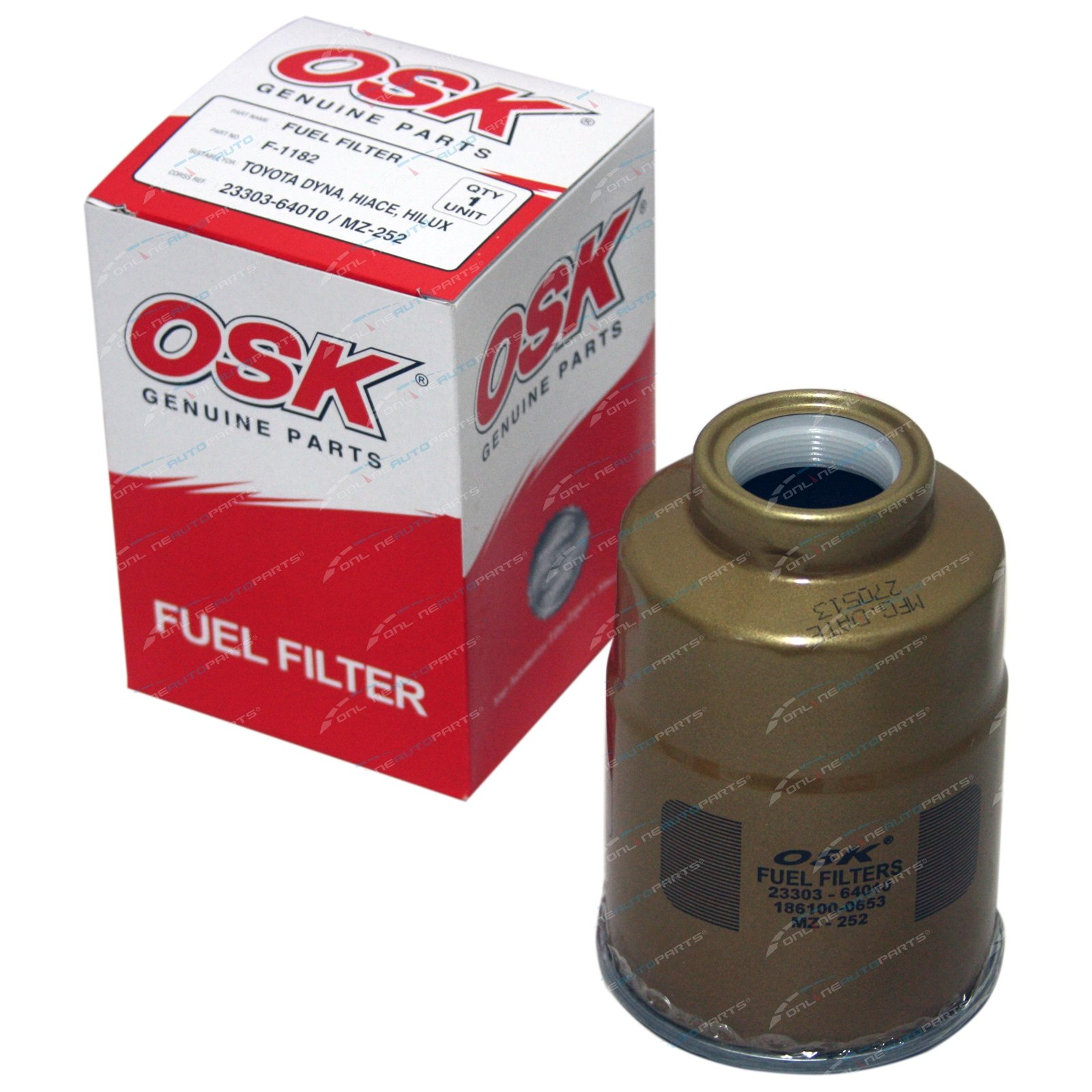 Diesel Fuel Filter Suits Landcruiser 1hz 42l 1990 2008 70 75 80 100 7 3l Housing Series