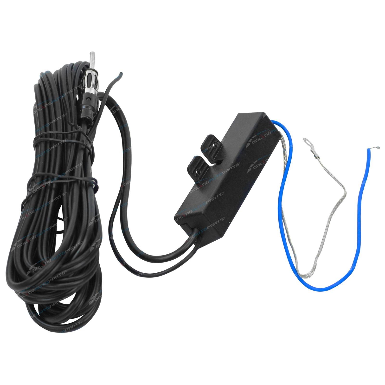 Stealth Hidden Amplified Am Fm Car Antenna 12v Aerial Zpn 01498 Onlineautoparts