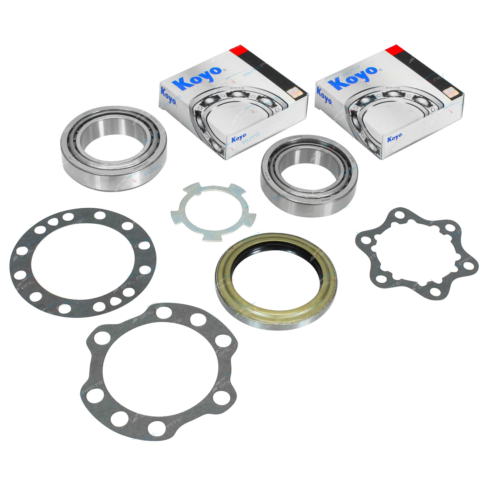 Front Wheel Bearing Kit KOYO suits Toyota Landcruiser 40 60 70 80 Series 4x4