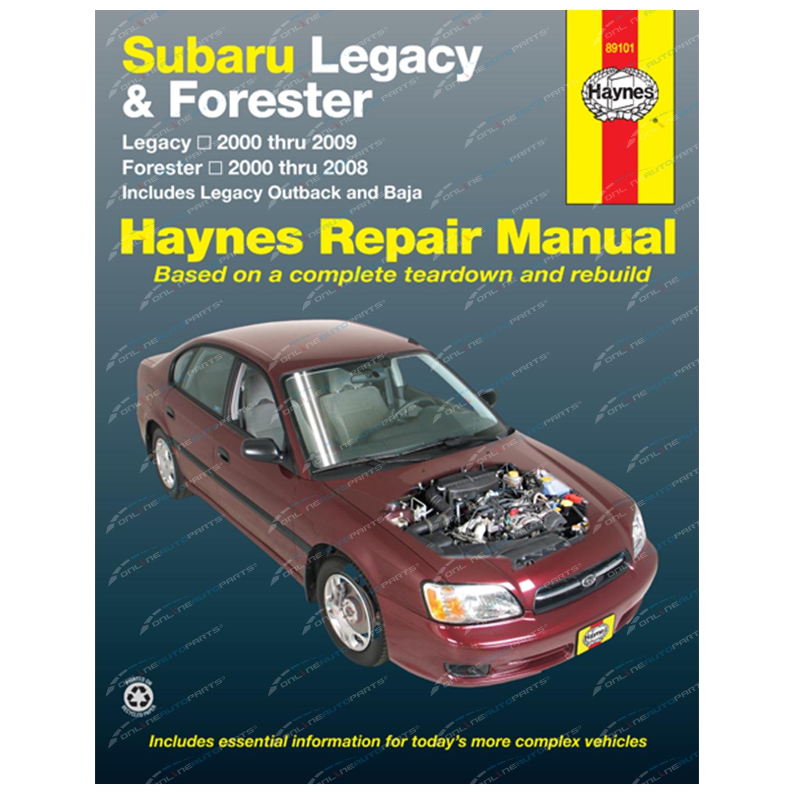 haynes car repair manual book liberty be bh bl bp 2000 2009 subaru rh onlineautoparts com au Saab Automotive Repair Manual Haynes Haynes Automotive Repair Manual