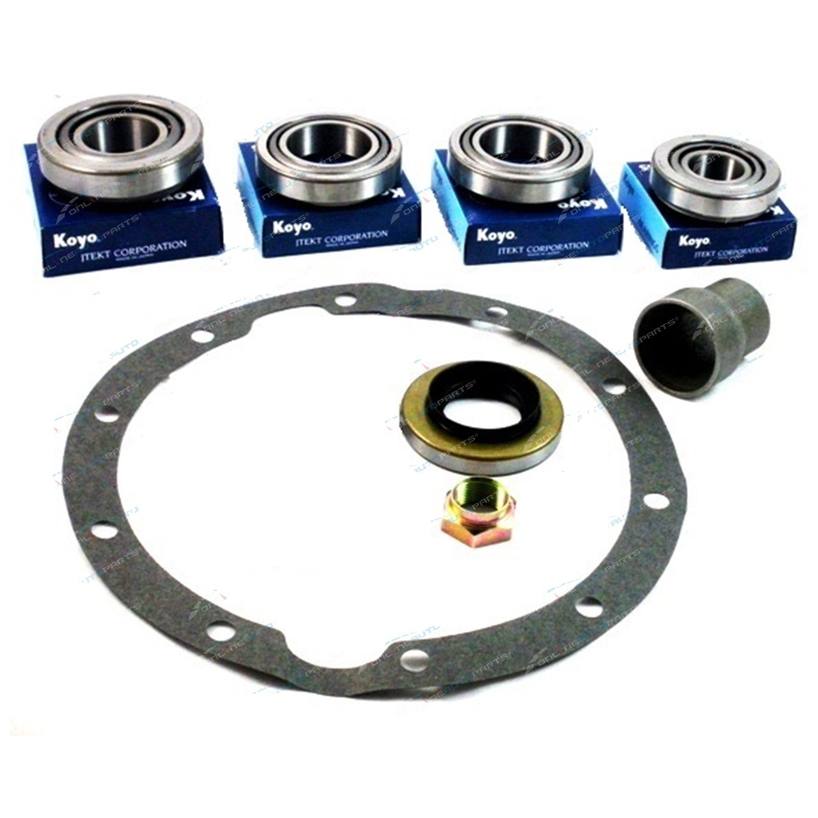 Front Diff Bearing + Seal Kit suits Toyota Hilux LN61 YN63 RN63 YN67 RN111