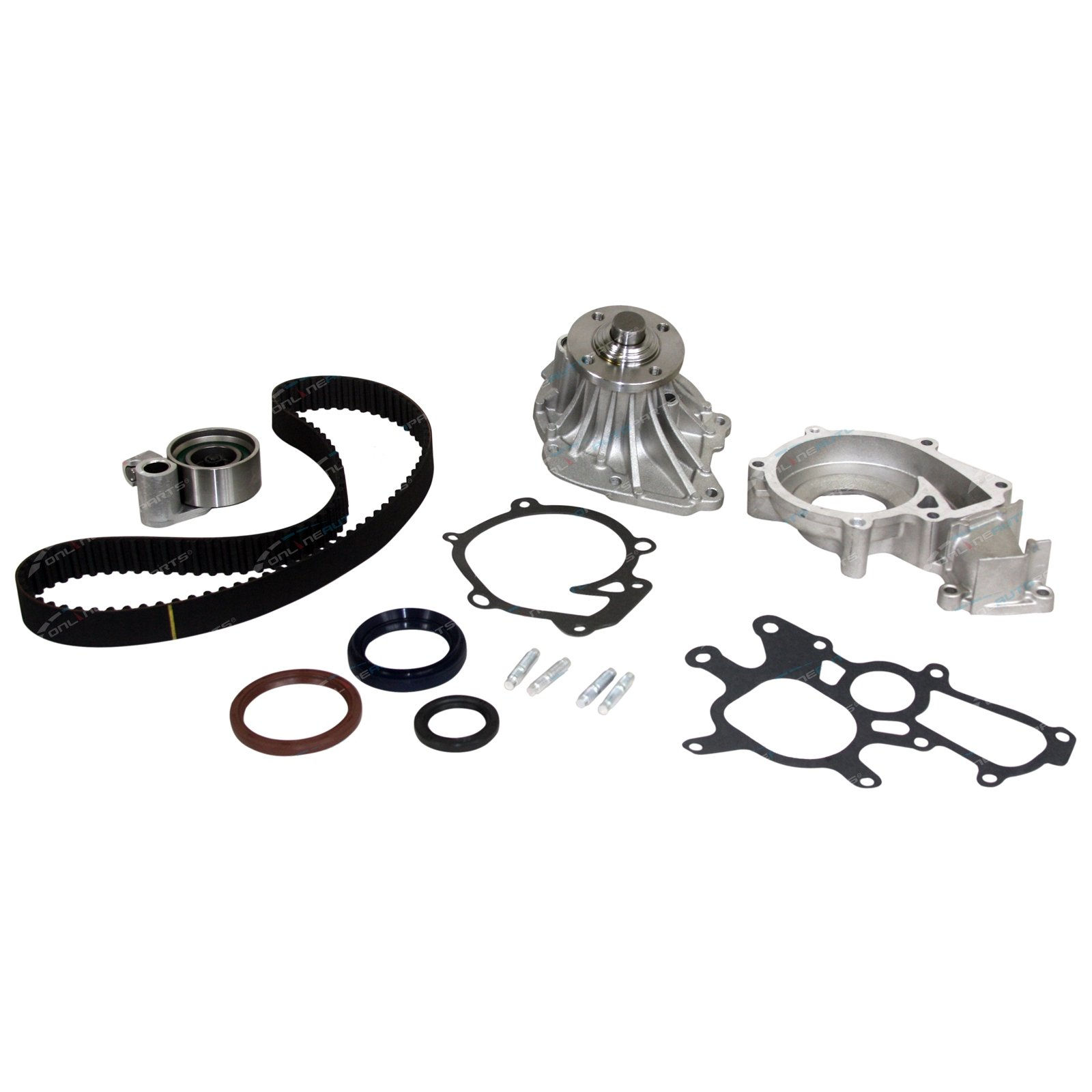 Timing Belt Tensioner Kit Gates Suits Toyota Hilux Surf Kzn130r Pulley Calculator