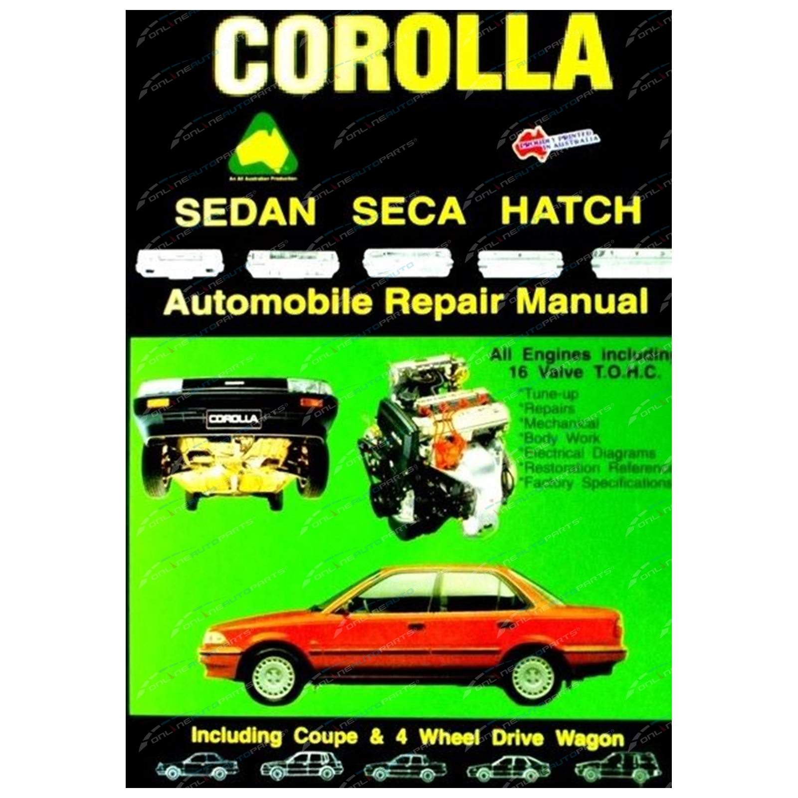 corolla ae80 manuals