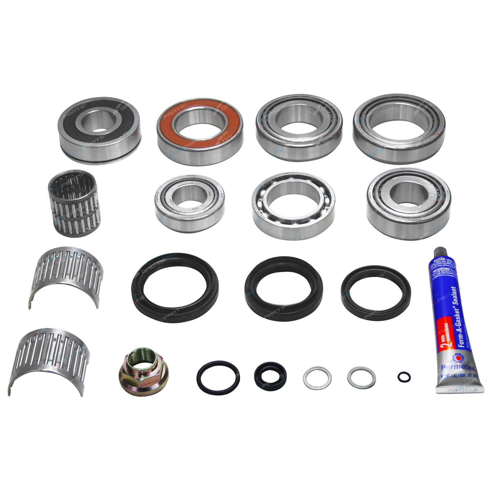 HF2A Transfer Case Rebuild Kit suits Landcruiser 80 Series HDJ80 HZJ80  FZJ80 Constant 4wd non viscous