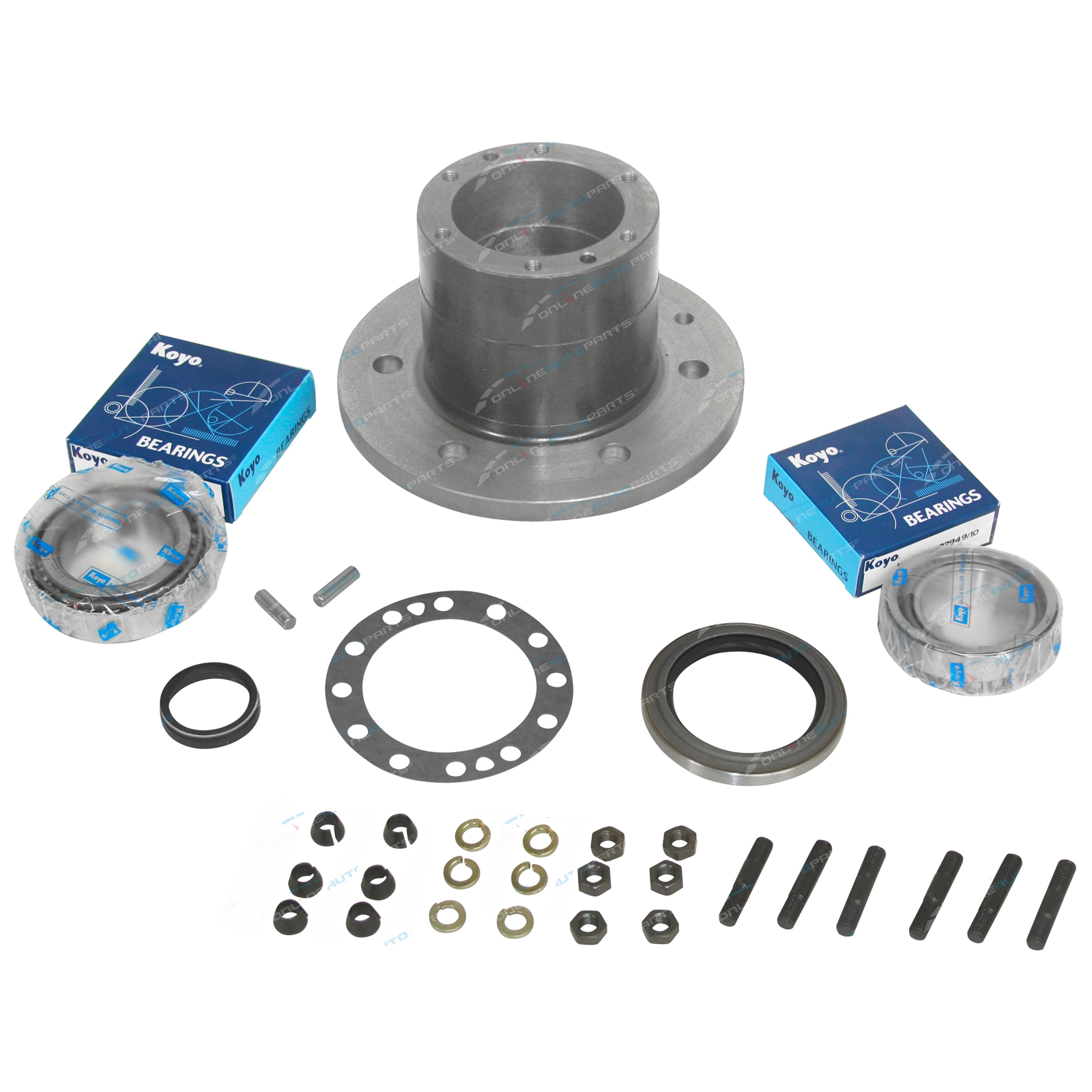 2 For Toyota Landcruiser HJ47 HJ45 Series Axle Locating Pins
