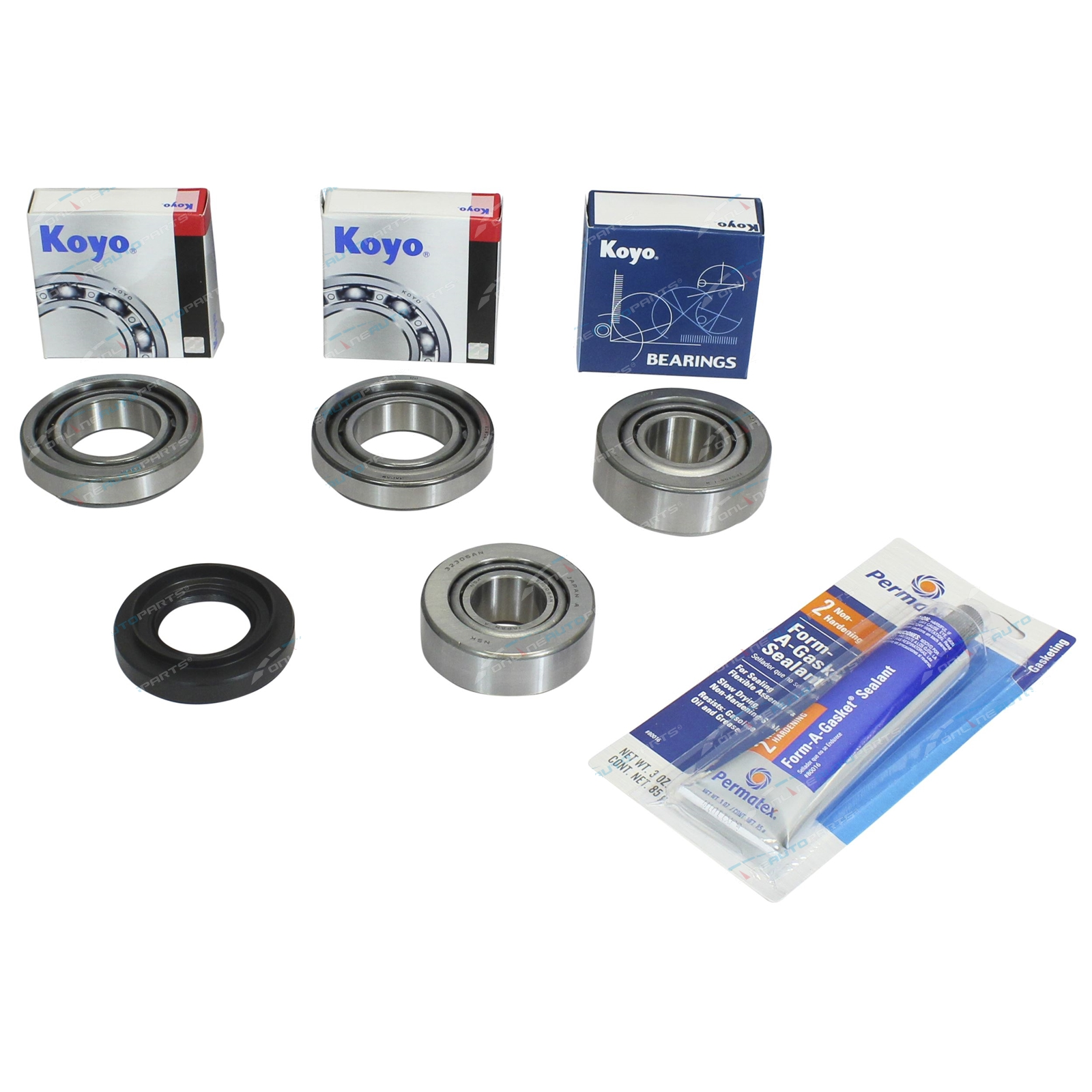 Diff Repair Kit (Front) Koyo Bearings