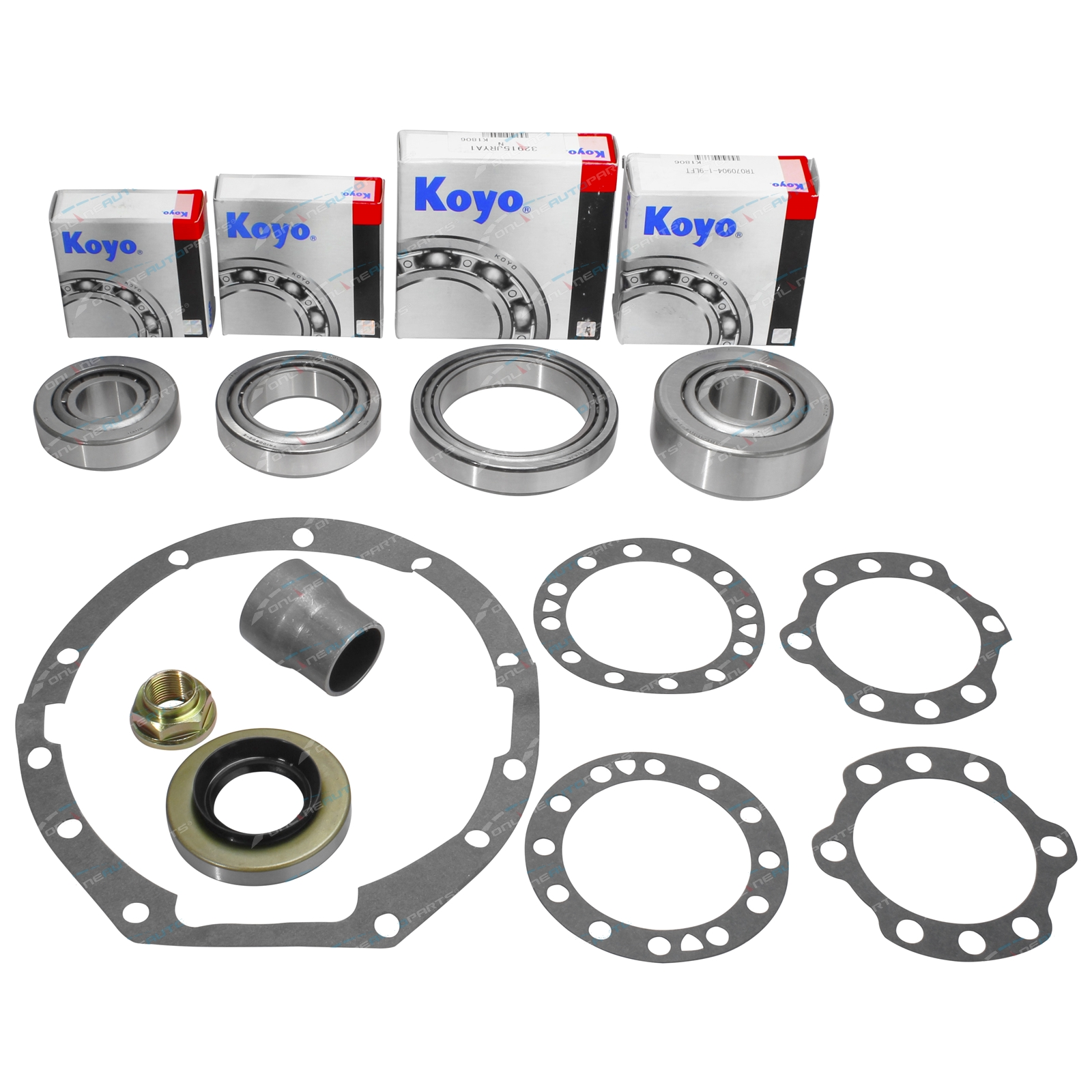 Front Diff Kit suits Toyota Landcruiser 80 Series w Diff Lock