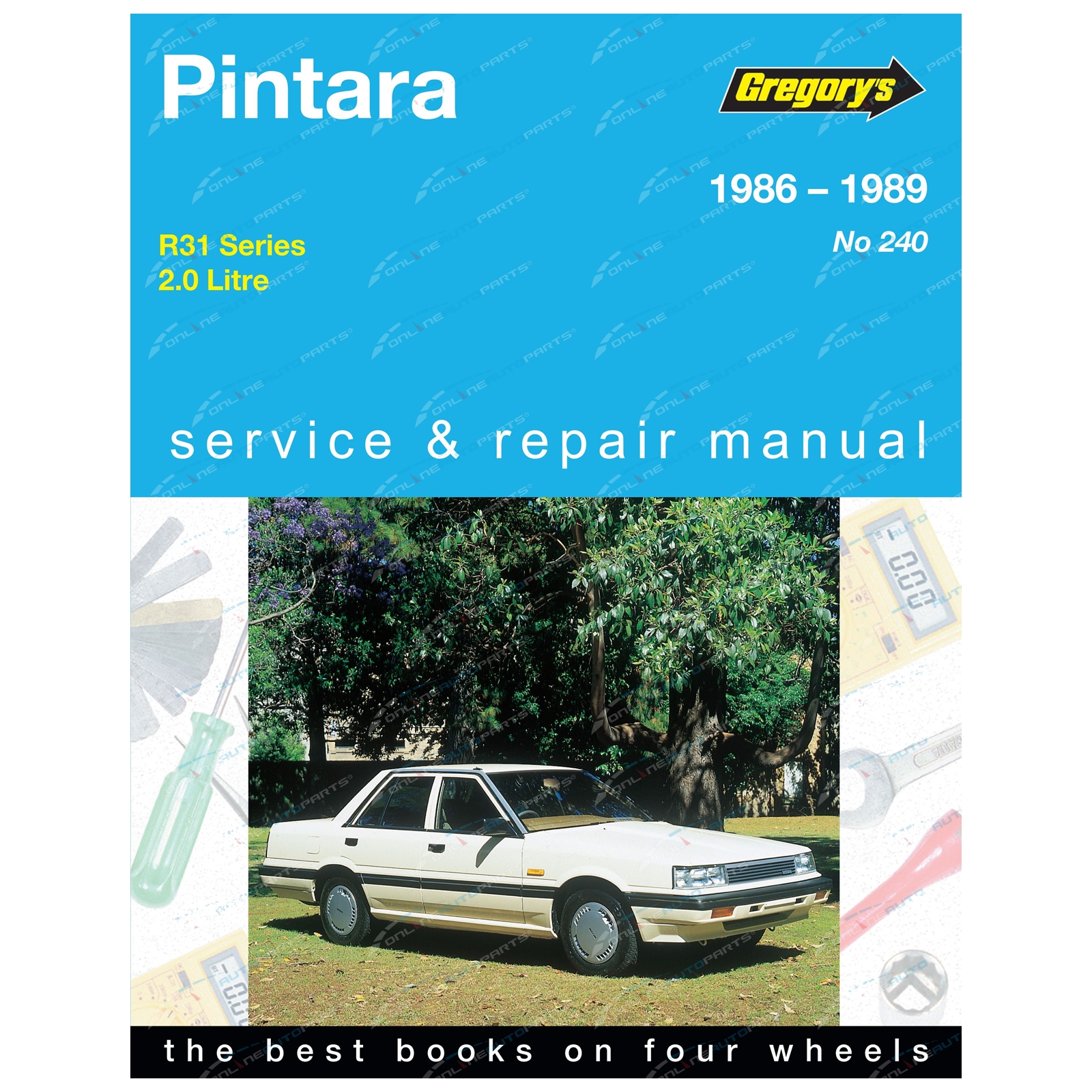 04240 085566634X 9780855666347 Gregorys Repair Manual Book