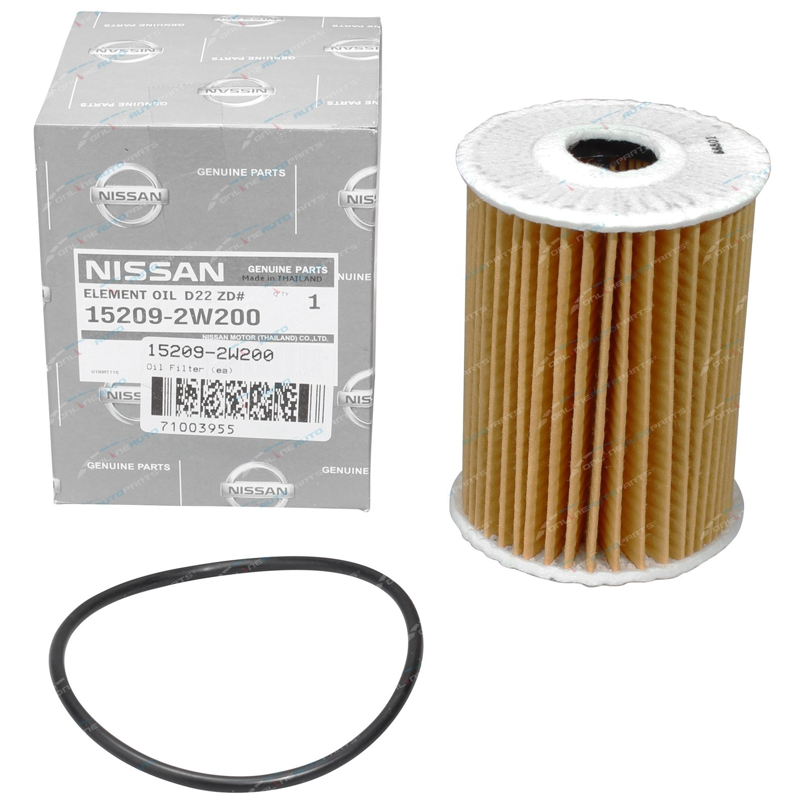 Oil Filter Genuine Nissan Patrol GU Y61 ZD30 3 0L Turbo Diesel Engine  2000-2012 ZD30DETI