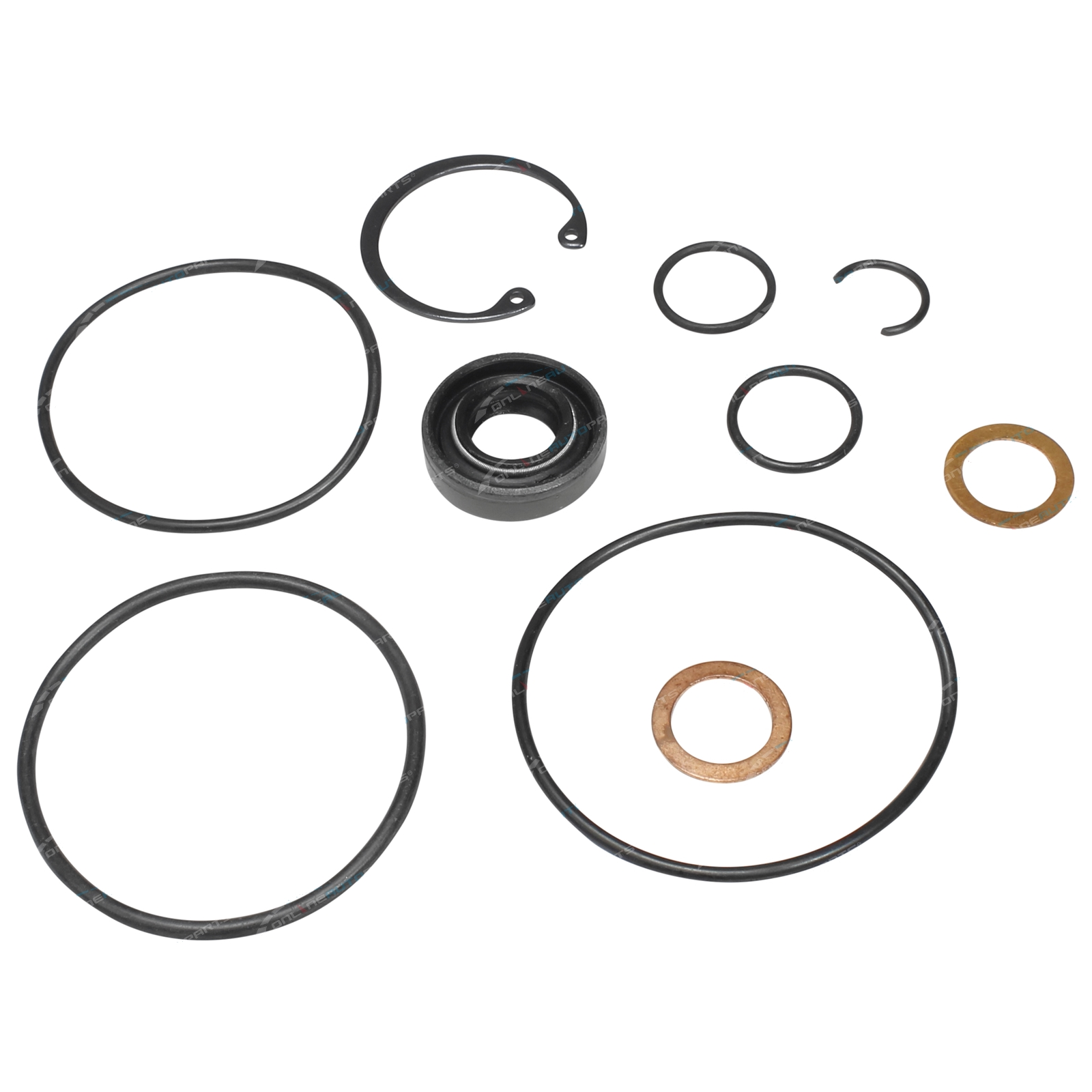 Power Steering Pump Seal Kit suits Toyota Landcruiser Diesel 75 80 100  Series 1HZ 4 2L