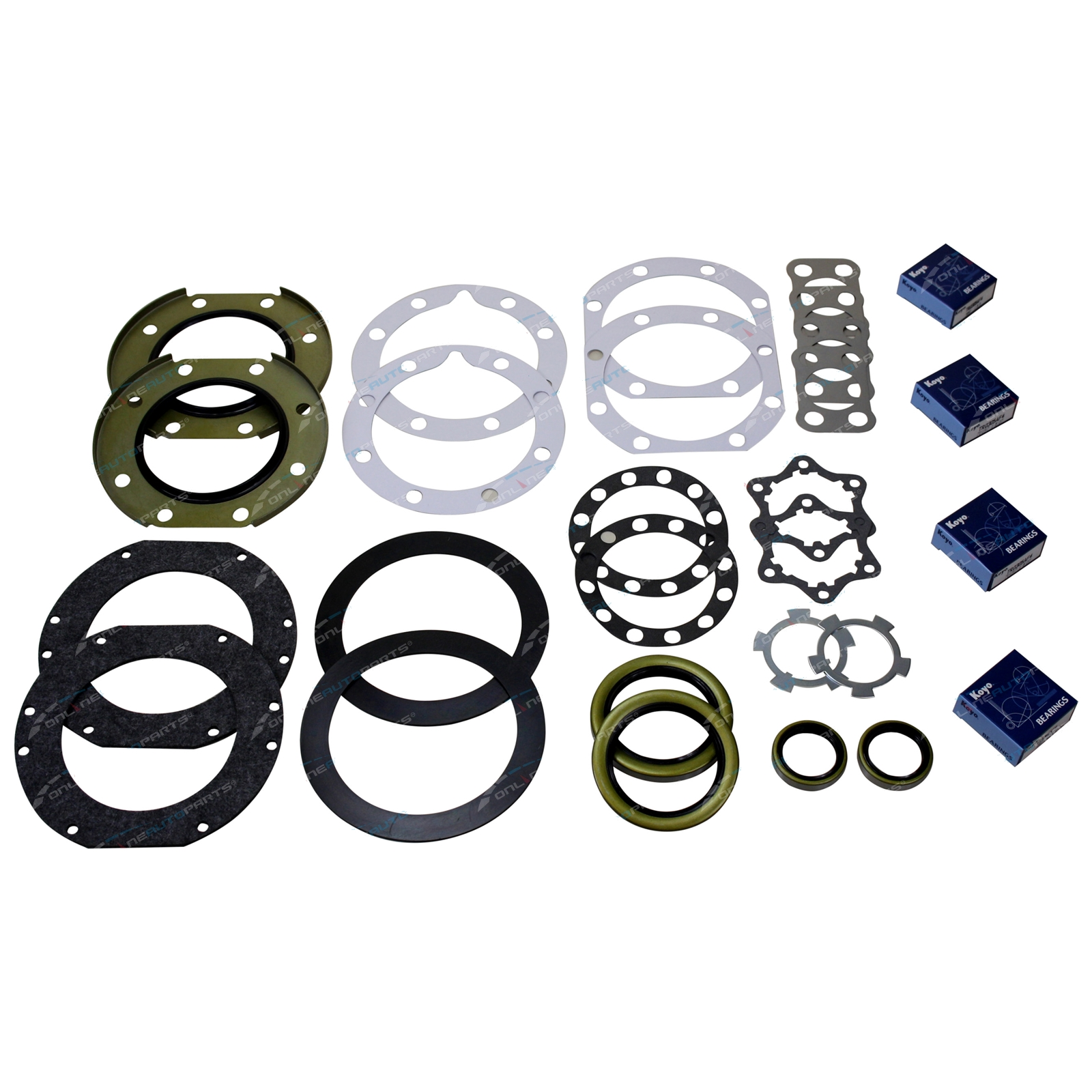 Swivel Hub Kit Bearing & Seal Repair suits Toyota Landcruiser FJ70 FJ73 FJ75 1985 to 1989