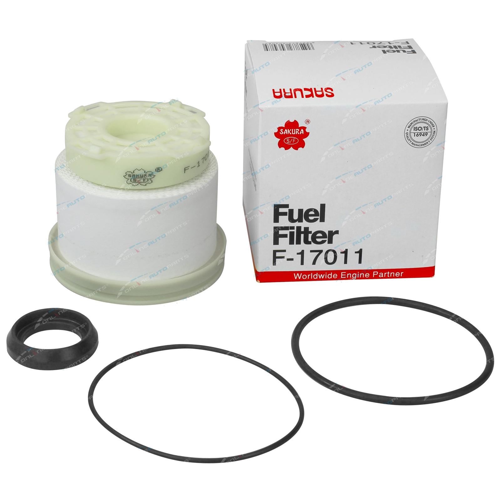Sakura Fuel Filter suits Mitsubishi Triton MQ 2 4L 4N15 Diesel 2015