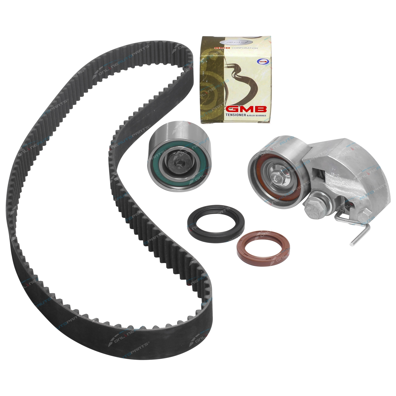 Timing Belt + Tensioner Kit Santa Fe CM 2006-2009 4cyl D4EB 2.2L 2188cc Diesel Hyundai Engine
