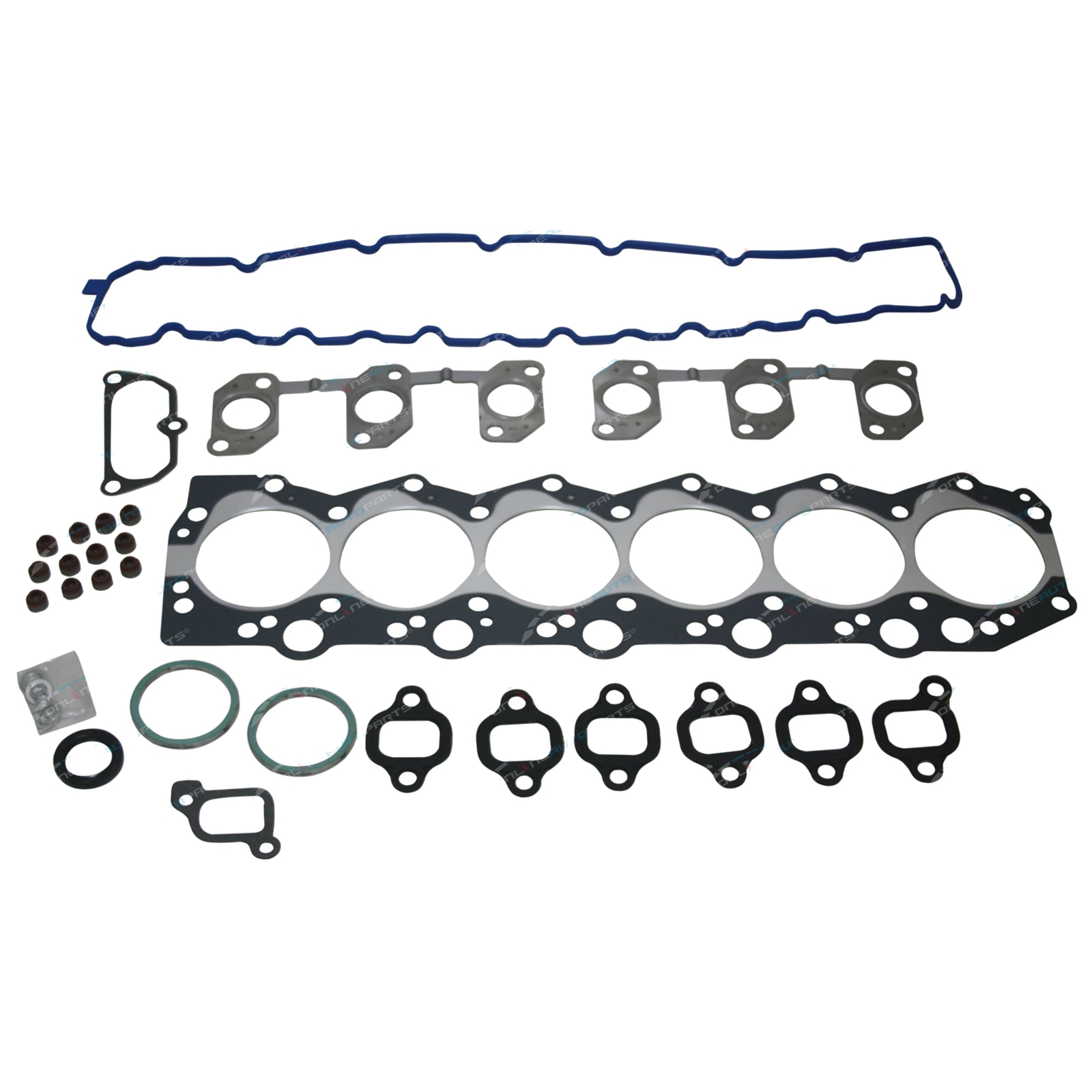 Engine VRS Set inc Cylidner Head Gasket suits Toyota HDJ80 4 2L Landcruiser  1HDT Turbo Diesel 80 Series 1990 to 1994