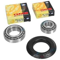 1 x Front Inner + Outer Wheel Bearing + Cone + Seal Kit Set - GMB Quality Brand