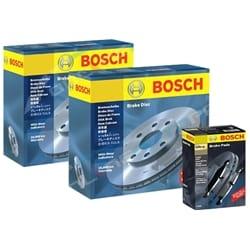 2 Genuine Bosch Rear Disc Rotors + Brake Pads Holden Commodore VT VX VU VY VZ V6 + V8 | ZPN-13381