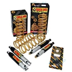 Tough Dog Coil Spring Lift Kit TJ Jeep Wrangler 9 Stage Adjustable Shock Absorbers 10/96-2007