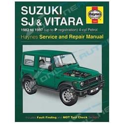 Haynes Car Repair Manual Book Suzuki Sierra 81-96 SJ40 SJ50 SJ70 SJ410 SJ413 1981-1996 1.0L 1.3L 4x4