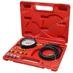 Car Truck Engine Oil Pressure Test Tester Tool Kit Automotive Mechanical 12pce Testing Set