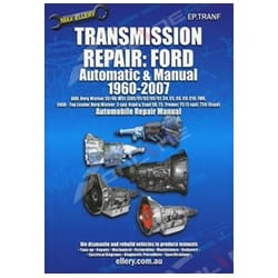 Ford Auto Manual Gearbox Overhaul Repair Manual 1960-07