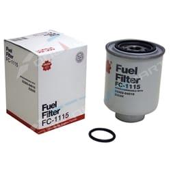 Diesel Fuel Filters suits Toyota Landcruiser 4.2L 1HZ Bulk Carton of 25 Sakura FC1115 | FC1115-X-25