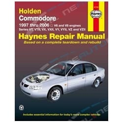 Haynes Repair Manual Holden Commodore VT VX VY VZ Berlina Calais 1997-2007 V6 V8 - Car Book | 41743