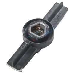 Distributor Rotor Genuine Nissan Patrol GU Y61 4.5 1997-2001 Petrol 6cyl TB45E 4.5L 4479cc Engine | ZPN-07358