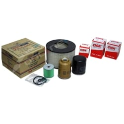 Filter Kit Air Oil Fuel suits Toyota Landcruiser 1HZ 4.2 Diesel HZJ75 HZJ80 75 80 Series Engine