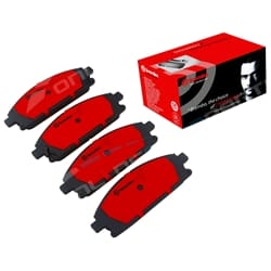 Front Disc Brake Pad Set Pathfinder R50 1995-2005 4X4 6cyl VG33E 3.3L 3274cc fit Nissan Wagon Brembo