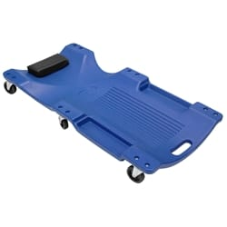 Garage Creeper Mechanic Workshop Trolley Swivel Wheels Castor Car Roller Blue 6 Castor - 120kg Rated - 40' (100cm) Length | GC6WBP
