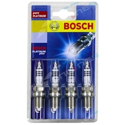 Set of 4 Bosch Spark Plugs Ford Courier PC PD PE PG PH 4cyl G6 2.6L Platinum 1990 to 2005 | ZPN-19598