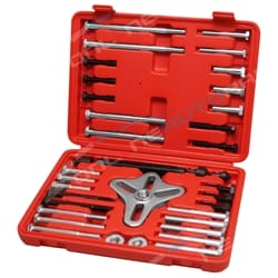 46pce Harmonic Balancer Puller Master Tool Set Gear Pulley Steering Wheel Removal | ZPN-15592