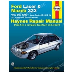 Haynes Car Repair Manual Book Laser KF KH KJ 90-99 1.3L 1.6L 1.8L Engines | 36751