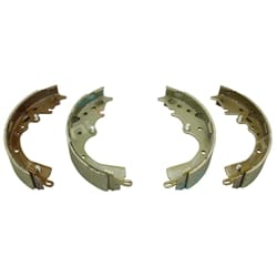 Rear Brake Shoe Set suits Toyota Hiace Van Commuter 2.7L Petrol + 2.5L 3.0L Diesel 2005 to 2014