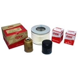 Air Oil Fuel Filter Service Kit suits HZJ105 1HZ Diesel 4.2 100 105 Series | ZPN-04080