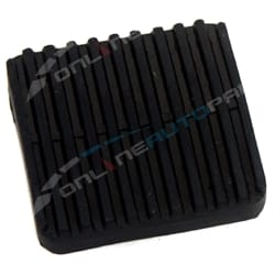 Clutch or Brake Pedal Rubber suits Landcruiser 40 Series BJ40 BJ42 FJ40 FJ45 HJ47 FJ55 1979 to 1984 | 31321-36010