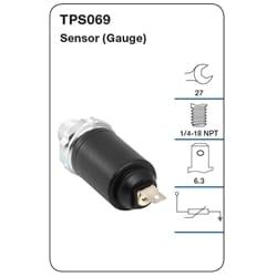 1 x Oil Pressure Gauge Sender (Tridon)   TPS069