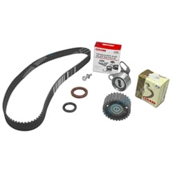 Timing Belt + Tensioner Kit suits Toyota Hilux LN106 LN111 LN86 4cyl 3L 2.8L Diesel Engine 1988 to 1997 | TB104