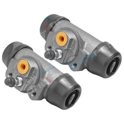 2 Rear Wheel Brake Cylinder suits Toyota Hilux 4wd 4x4 LN106 LN107 LN111 LN166 LN167 1989 to 2004   ZPN-01985