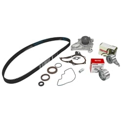 Timing Belt Water Pump Kit suits Toyota RAV4 SXA10 SXA11 4cyl 3S-FE 2.0L 1998cc Engine 1994 to 2000 | ZPN-05542