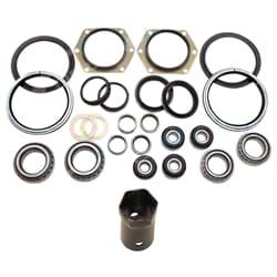 Swivel Hub King Pin Repair Kit Nissan Patrol GQ GR Y60 + Wheel Bearings + 54mm Hub Socket 4x4   ZPN-15586