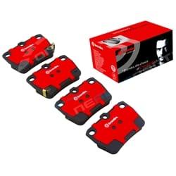 Rear Disc Brake Pads suits Toyota RAV4 SXA10 SXA11 ACA20 ACA21 ACA22 ACA23 Set Brembo 1994 to 2006 | P99021S