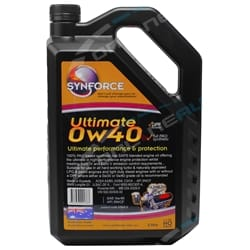 Synforce Synthetic Engine Oil 0W40 Ultimate 5L | S2900.5