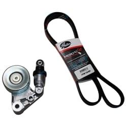 Gates Drive Belt + Tensioner Assembly Navara D22 ZD30 3.0L 2001 to 1/1007 Nissan Diesel Engine | ZPN-15154