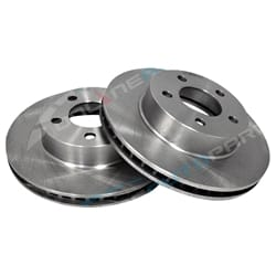 2 Front Disc Brake Rotors XLT Explorer UN UP US 11/1996-4/2001 Ford 4x4 New Pair Set | DR860-X-2