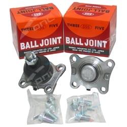 Set of 2 Lower 555 Ball Joints Hilux IFS 4x4 89-05 KZN165 LN107 LN111 LN167 LN172 RN106 RN110