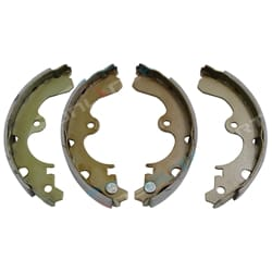 Rear Brake Shoe Lining Set suits Toyota Starlet EP91 FWD 4cyl 1.3L - Kit of 4 Pads 1996 to 1999