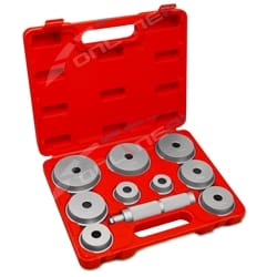 11pce Professional Wheel Bearing Race Seal Driver Set Garage Aluminium Tool Kit | D1014